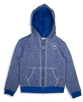 True Religion Little Boy's Marled French Terry Hoodie