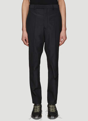 Rick Owens Classic Dress Pants in Black