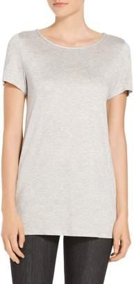 St. John Heavy Sleek Viscose T-Shirt
