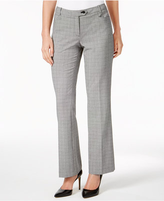 Calvin Klein Plaid Trousers $89 thestylecure.com