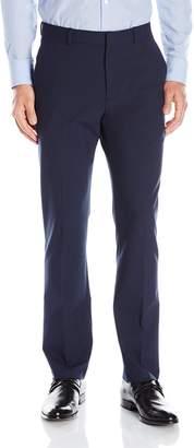 Perry Ellis Men's Slim Fit Machine Washable Flat Front Pant