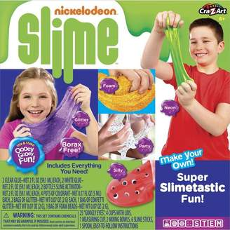 Nickelodeon Cra Z Art Slime Make Your Own Super Slimetastic Fun