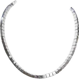 Montblanc Grey Silver Necklace