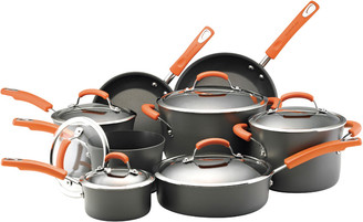 Rachael Ray 8Pc Hard-Anodized Nonstick Cookware Set