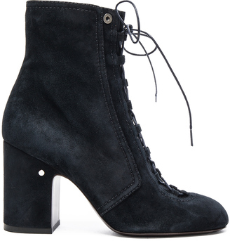 Laurence Dacade Suede Milly Booties $1,160 thestylecure.com