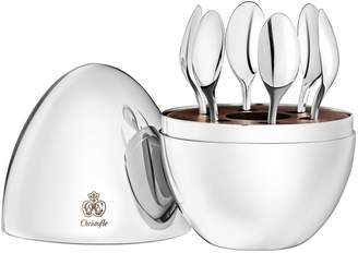 Christofle Mood Espresso Spoons (Set of 6)