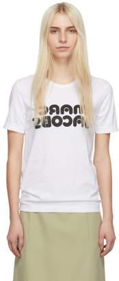 Marc Jacobs White Redux Grunge Backwards T-Shirt