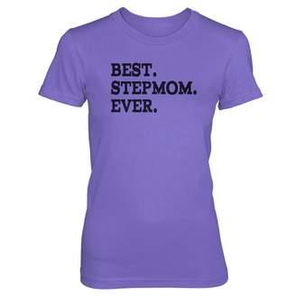Vine Fresh Tees - Ladies/Juniors Best Stepmom Ever T-Shirt - Ladies/Juniors Small