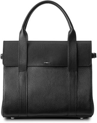 Shinola Small Grained Leather Satchel