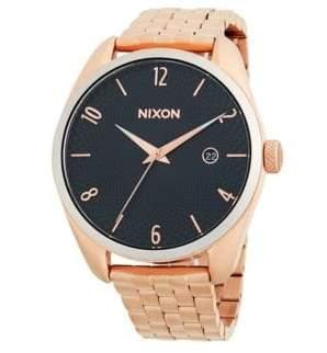 Nixon Bullet Stainless Steel Bracelet Watch