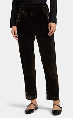 Zero Maria Cornejo Women's Tabi Velvet Pants - Brown