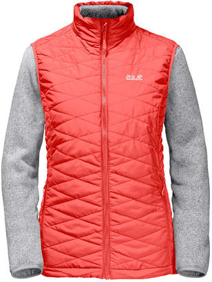 Jack Wolfskin Women's Caribou Glen 3-in-1 Vest & Fleece Set from Eastern Mountain Sports