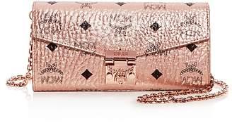 MCM Patricia Convertible Crossbody Flap Wallet