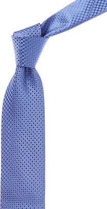 Canali Purple Circle Silk Tie