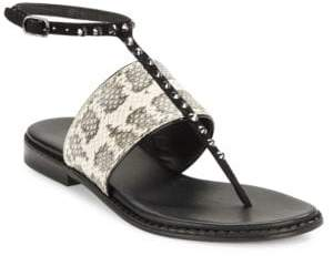 Donald J Pliner Lacy Thong Sandals