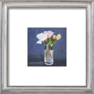 Flowers, Vase Framed Giclee Print, Artfully Walls