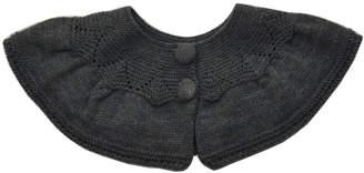 Foque Grey Knitted Overcoat