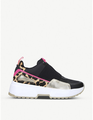 MICHAEL Michael Kors Cosmo woven trainers