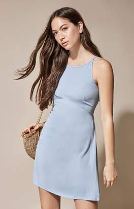 La Hearts High Neck Mini Dress