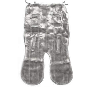 NEW Minimink Silver Grey Double-Sided Faux Fur Pram Liner