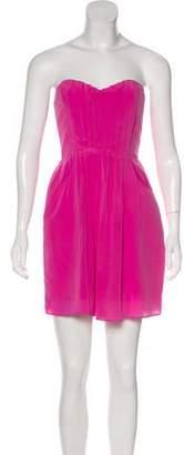 Rebecca Taylor Strapless Mini Dress