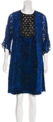 Andrew Gn Embellished A-line Dress