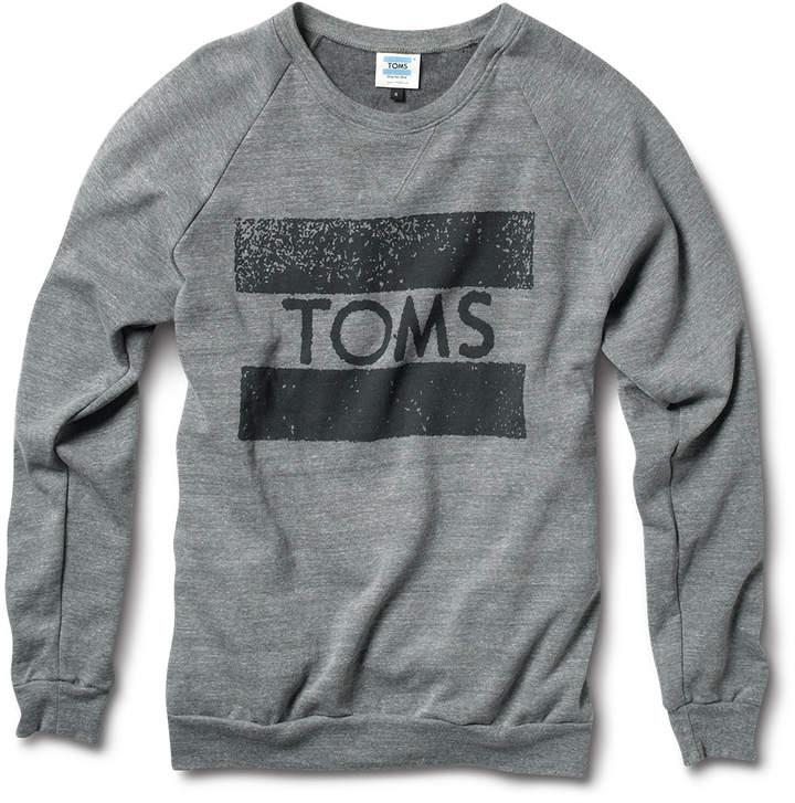TOMS Crew Neck Sweatshirt