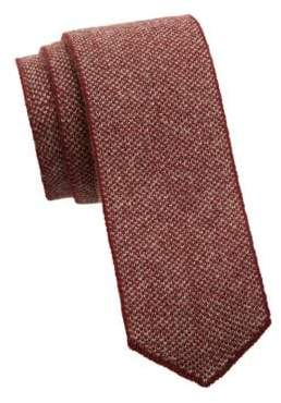 Saks Fifth Avenue COLLECTION Two-Tone Cashmere Knit Tie