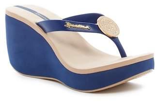 Ipanema Bossa Wedge Sandal (Women) $55 thestylecure.com