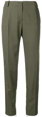 Pinko relaxed fit trousers