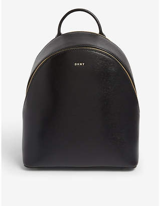 DKNY Bryant saffiano leather backpack