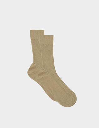 Maria La Rosa Lurex metallic socks