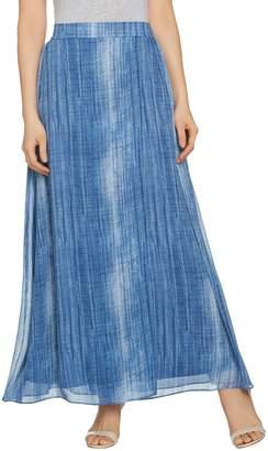 Lisa Rinna Collection Regular Printed Faux Wrap Skirt