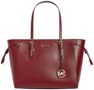 MICHAEL Michael Kors Leather Voyager Tote Bag