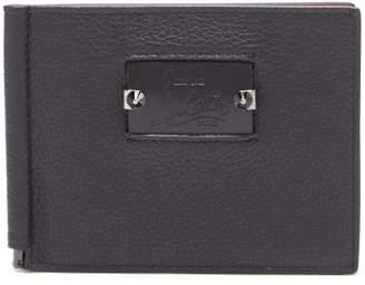 Christian Louboutin Clipsos Leather Wallet - Mens - Black