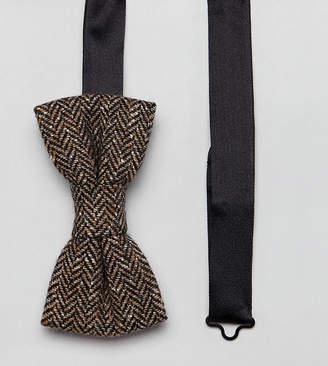 Heart & Dagger bow tie in tweed