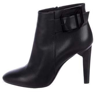 Pierre Hardy Leather round-Toe Ankle Booties