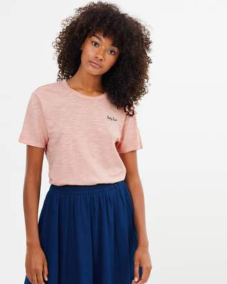 Maison Scotch Garment Dye SS Tee