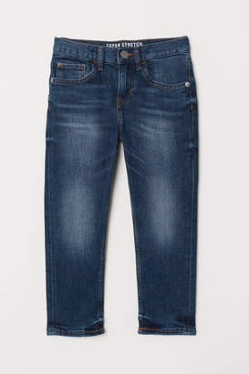 H&M Slim Fit Superstretch Jeans - Blue
