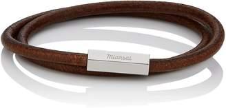Miansai Men's Bare Double-Wrap Bracelet