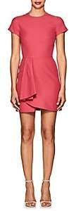 Valentino WOMEN'S WOOL-SILK CREPE MINI-DRESS