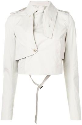 Rick Owens cropped length jacket