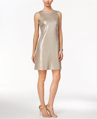 Tommy Hilfiger Heathered Sequined Dress $159 thestylecure.com
