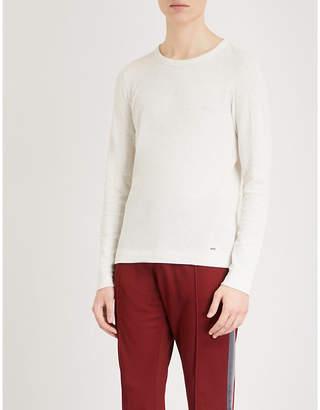 BOSS ORANGE Crewneck cotton-jersey T-shirt