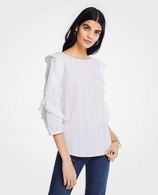 fdd8e7b8d88 Ann Taylor 3/4 Sleeve Tops For Women - ShopStyle Canada