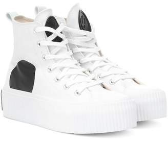 McQ High-top canvas sneakers