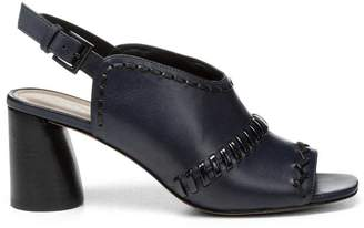 Donald J Pliner HEMISP, Calf Leather Slingback Heeled Sandal