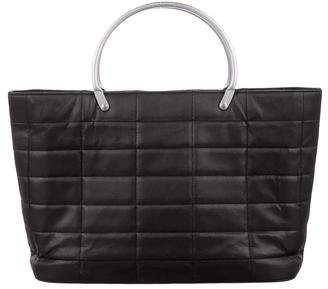 Chanel Quilted Nylon Tote