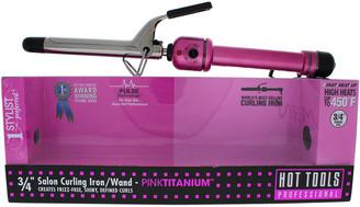 Hot Tools Pink & Silver Pink Titanium Salon Curling Iron/Wand