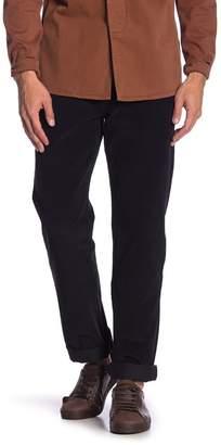 Levi's 514 Straight Mineral Black Corduroy Pants